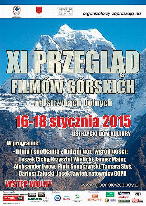 XI Przeglądu Filmów Górskich